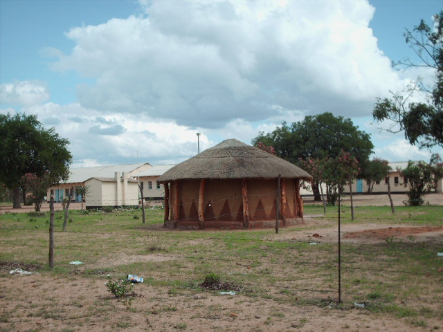 traditional kalanga huts now a common feature at mangwe
